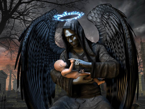 Death Graphics Angel Of death myspace layouts orkut Alchemy Gothic